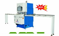 vertical uPVC window 3 in 1 cutting machine launched