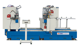 MEAC-4525 CNC Cutting & Double Head End Milling Machine