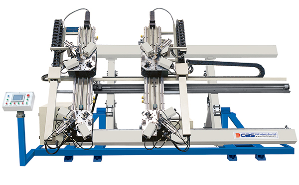 four-corner-crimping-machine