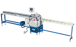 CGB-3218C  CNC uPVC Window and Door Glazing Bead Saw