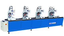 WMC-412 uPVC Window & Door Four-head Welding Machine