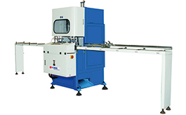 CCS-1413 vertical uPVC profiles cutting centre