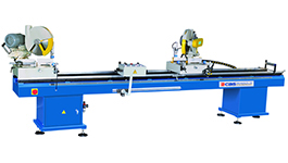 CDM-3535 Double Head Cutting Saw for uPVC windows and Doors