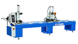 WMSK-220 uPVC Window Two-head Common & Seamless Welding Machine